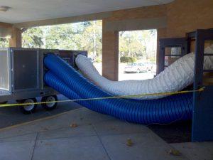 water damage equipment