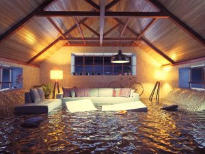water damage summerville